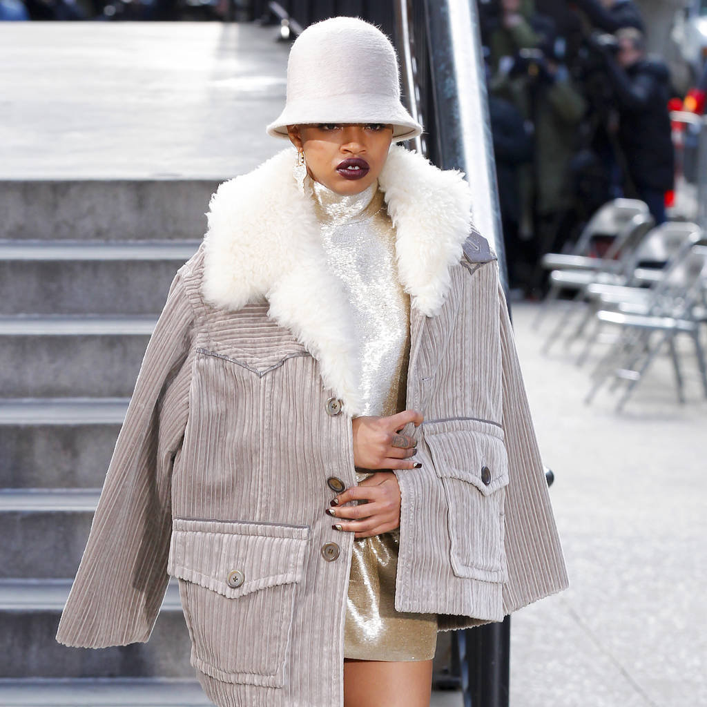 Marc Jacobs offers up glamorous street style for fall 17