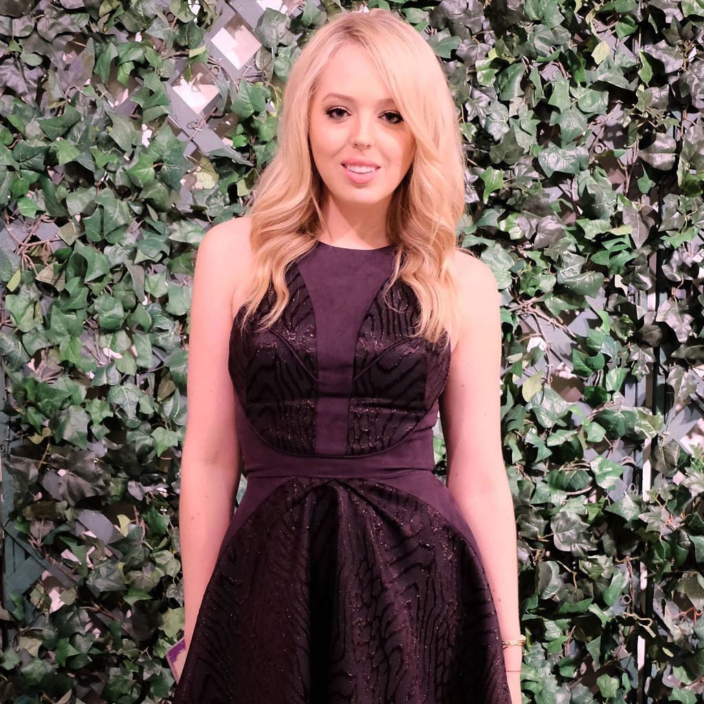 Designer Wang Tao praises client Tiffany Trump's style