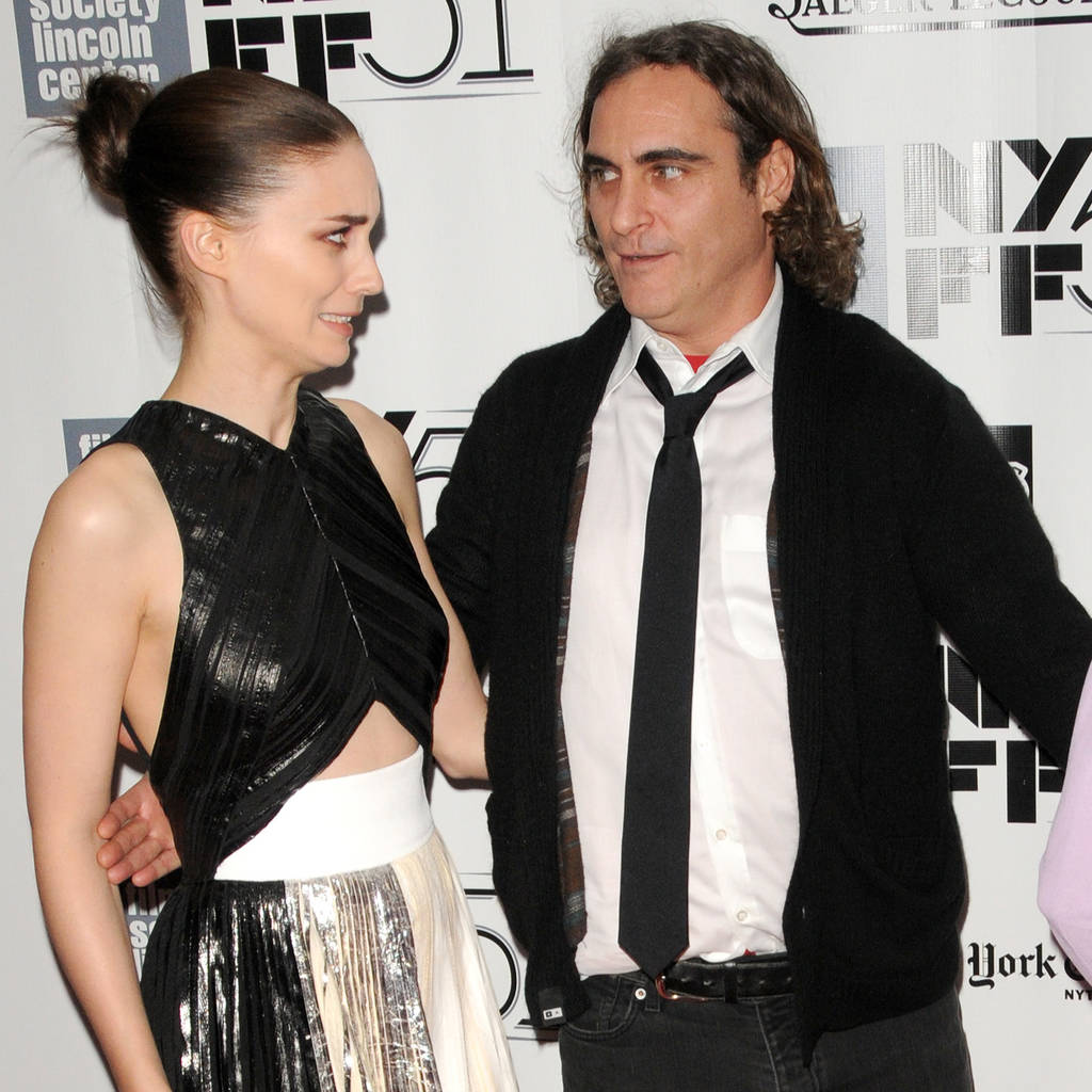 Joaquin Phoenix and Rooney Mara 'found love' while shooting biblical epic - report