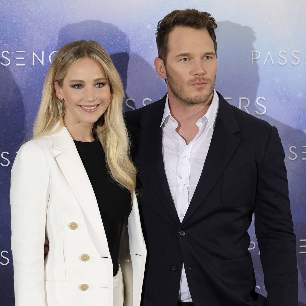 Chris Pratt on co-star Jennifer Lawrence: 'Great actress but terrible singer!'