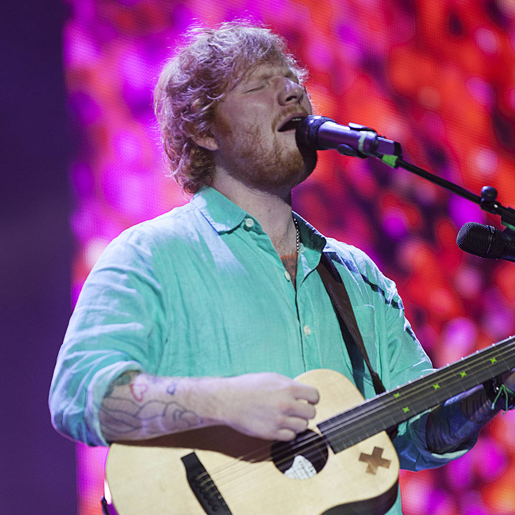 Ed Sheeran: 'I'm not worried if people don't think I'm credible'