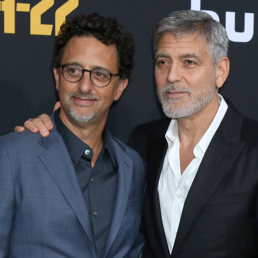 3e1ffa618fe94 George Clooney s production partner vowed to give up bikes as he held  actor s head in his arms