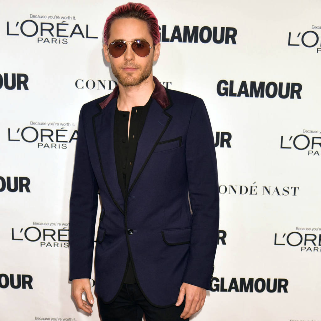 Jared Leto gets specs-y for luxury eyewear label Carrera