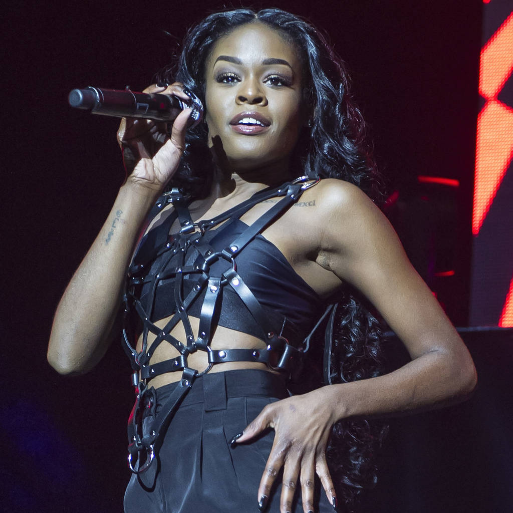 Azealia Banks in court for bouncer biting drama