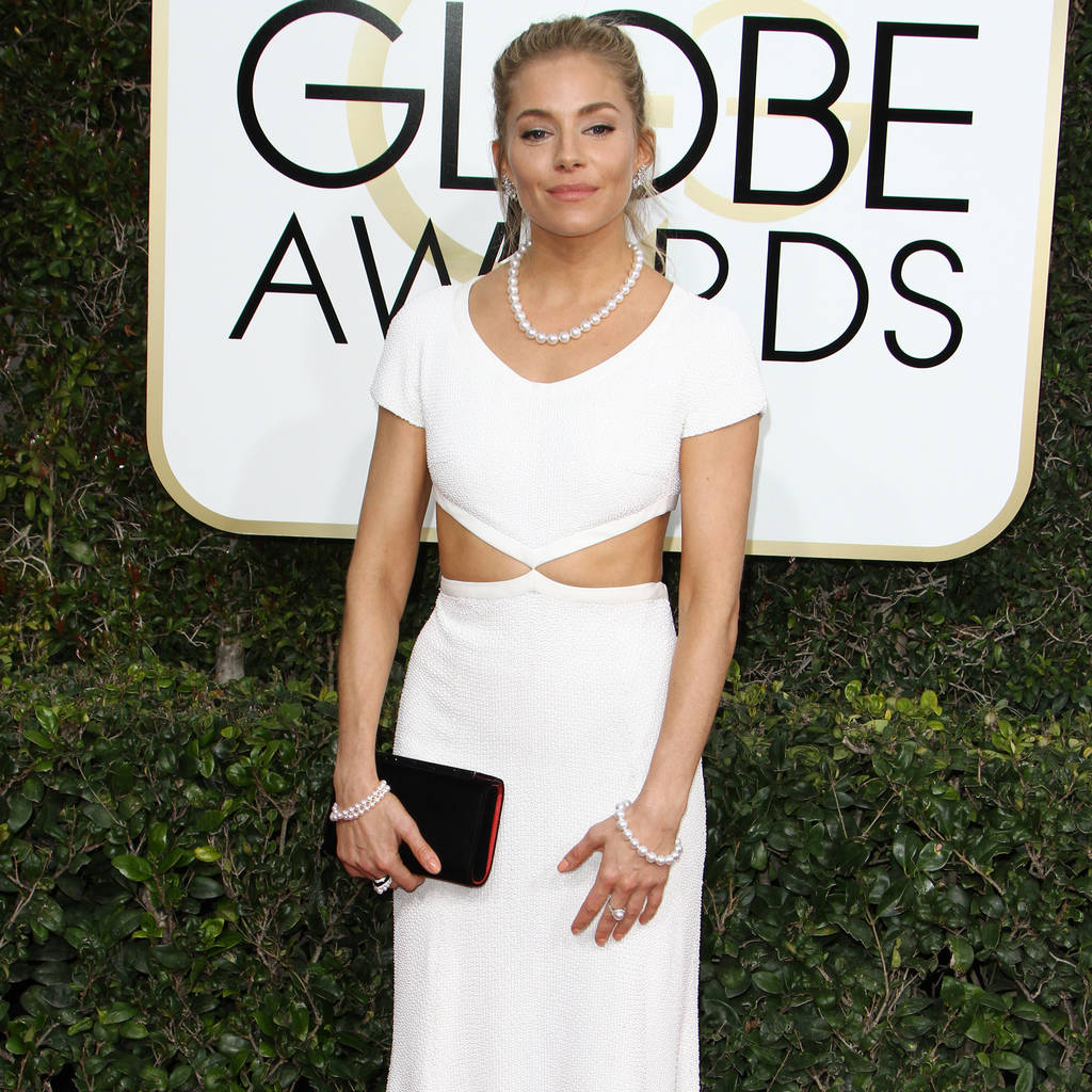 Sienna Miller had 'a few vodkas' before presenting at Golden Globes