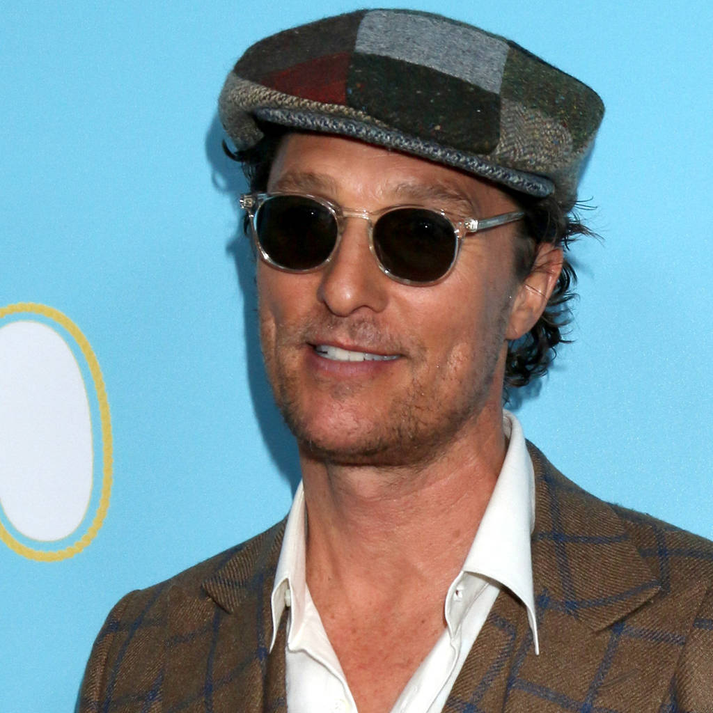 9dae23f57cf7f Matthew McConaughey celebrates pal Guy Fieri at Walk of Fame honour ceremony