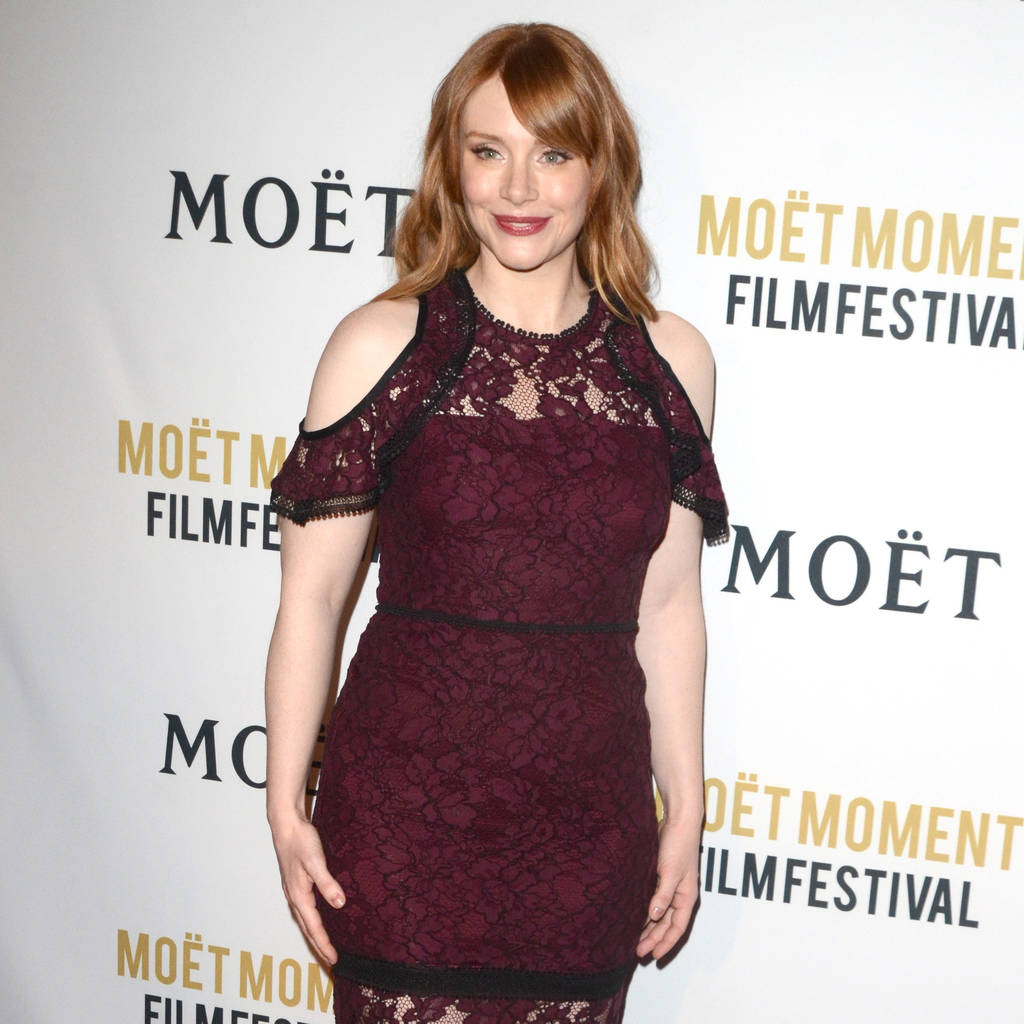 Bryce Dallas Howard completing abandoned degree