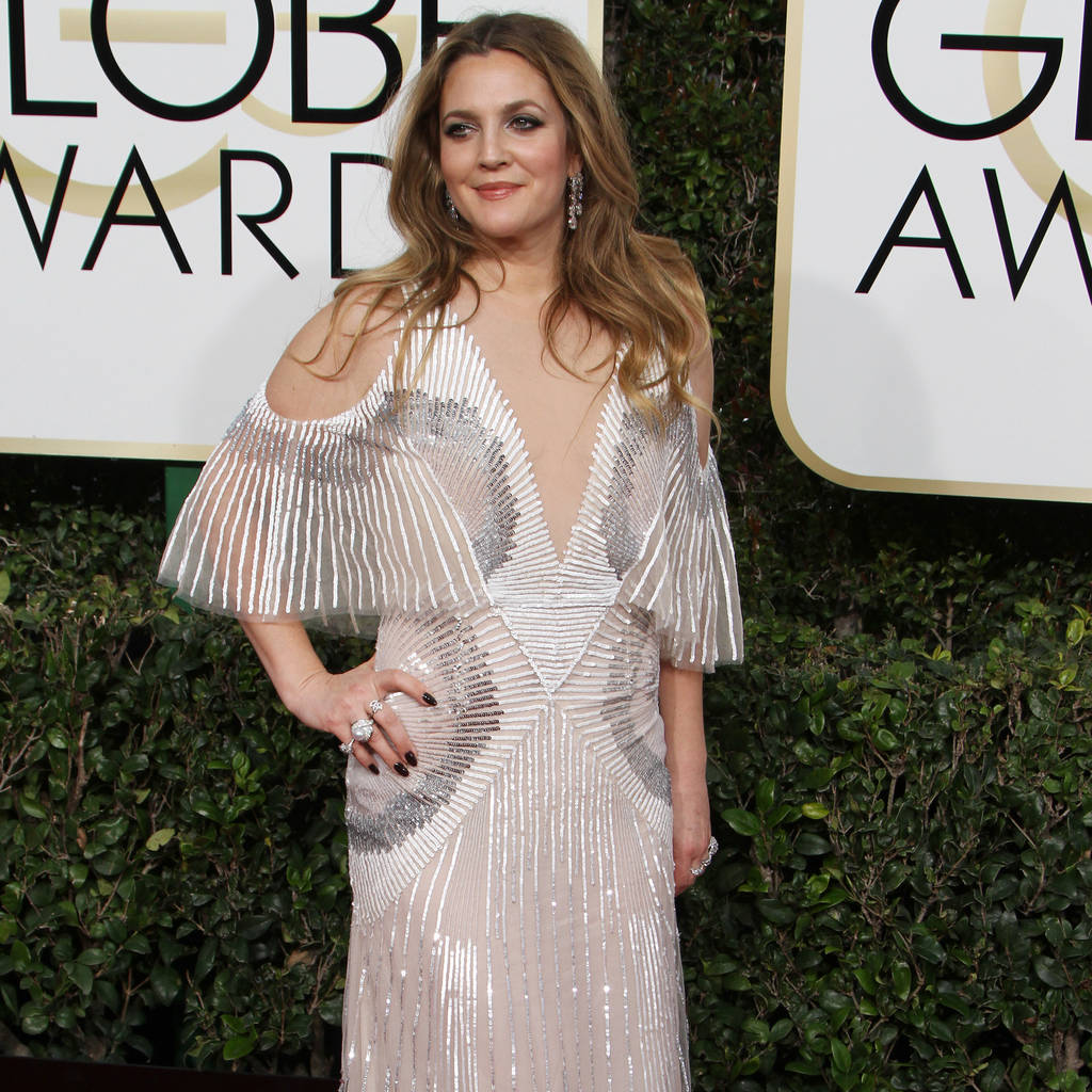 Drew Barrymore credits moisturiser for her 'beyond make-up glow'
