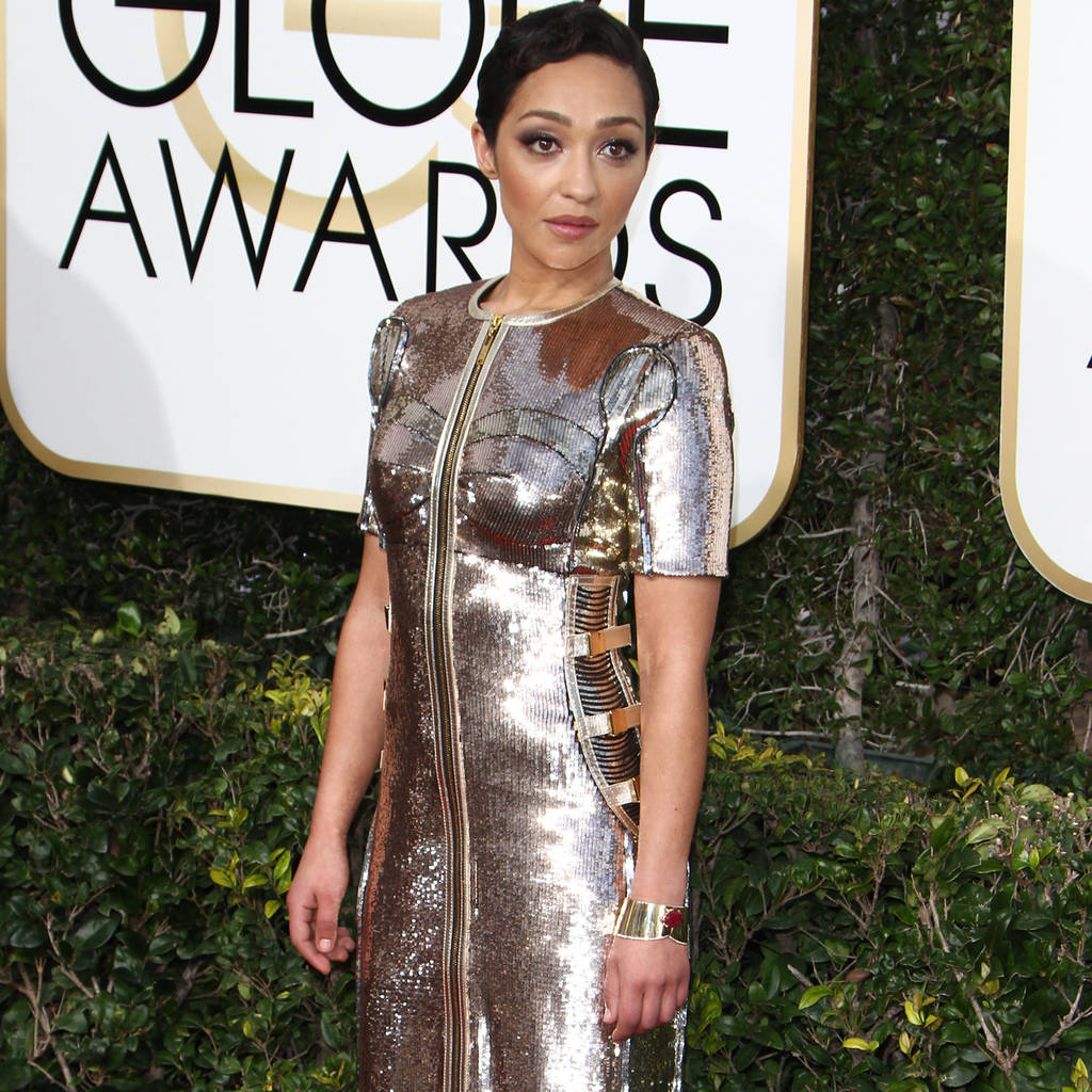 Ruth Negga was 'terrified' of fashion before engaging stylist